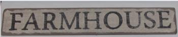 XL FARMHOUSE sign