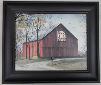 Amish Star Barn Print