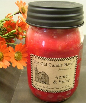 Apples And Spice Jar Candle