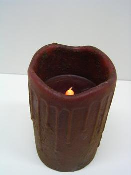 Primitive Battery  Pillar Red