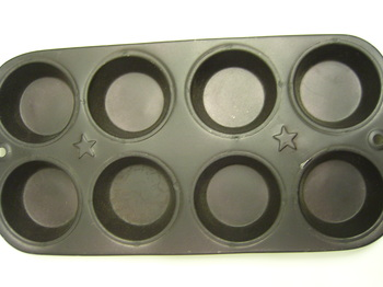 Metal Muffin Pan Star