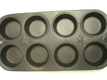 Metal Muffin Pan Star