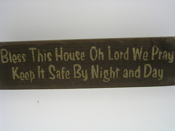 Bless This House Sign