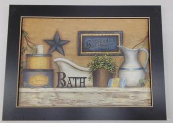 Buttermilk Soap bath Print