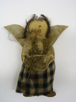 Pantry Angel Doll Blue Dress