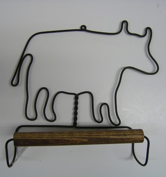 Cow Towel Hanger