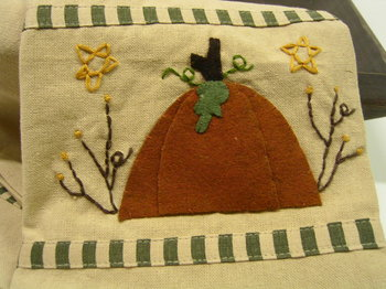 Pumpkin Star Towel