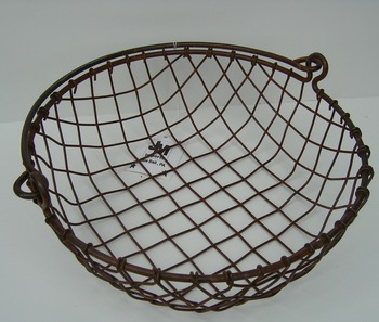 Woven Mesh Wire Basket