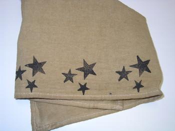 flour Sack Towel stars