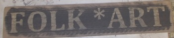 Folk Art Sign