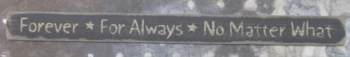 Forever For Always SIGN