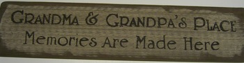 Grandma & Grandpas House Sign
