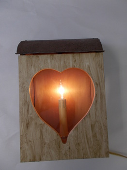 White Heart Lantern