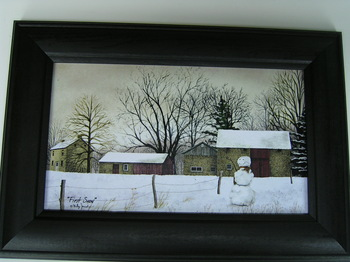 First Snow Jacobs Print