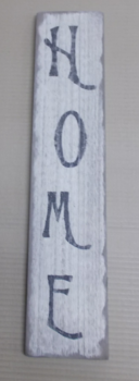 Home vertical sign