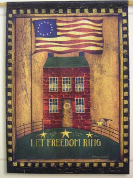 Let Freedom Ring Flag