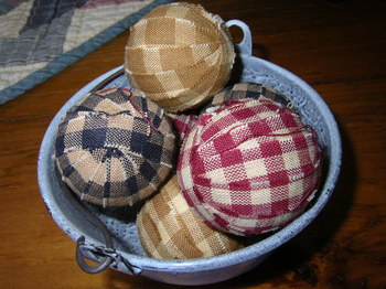Mini Rag Balls Assorted