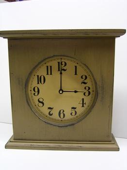 Mustard Clock