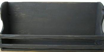 Black Bowl Shelf