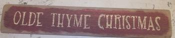 Olde Thyme Christmas