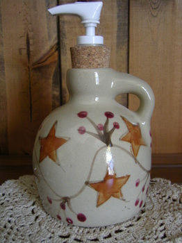 Pottery Soap Pump