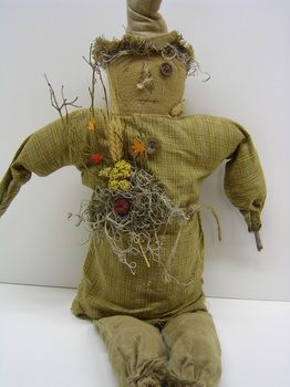 Primitive Scarecrow  Doll