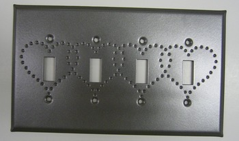Quad Switch Plate