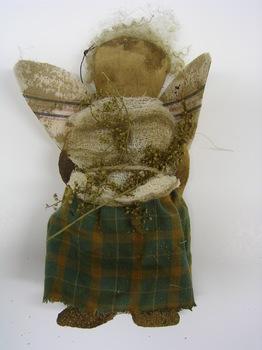 Pantry Angel Doll Green