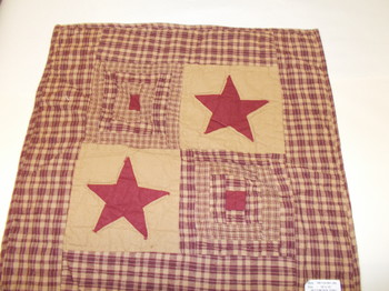Red star wall Quilt