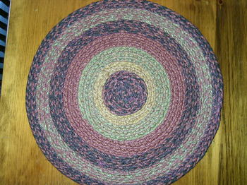 Berkshire Braided Round Mat