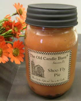 Shoo Fly  Pie Jar Candle
