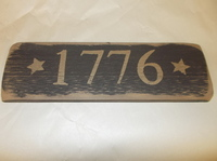 1776 sign