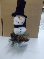 Frosty with top hat night light