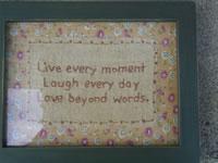 Live Every Moment Sampler
