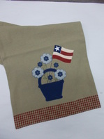 Patriotic Flower runner