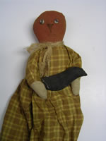 Pumpkin Doll With Crow