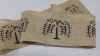 willow tree burlap ribbon