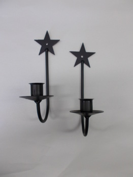 Small Star Sconce Set