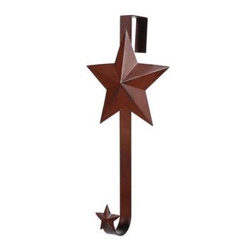 Rusty Star  wreath hanger
