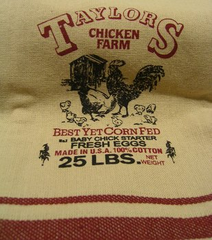 Taylors Chicken Farm Towel