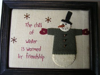 Chill Of Winter Stitchery