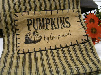 Pumpkins By The Pound Towel