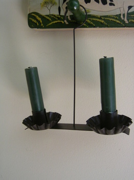 Double Wire Candle Holder