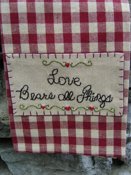 Tea Towel Love Bears