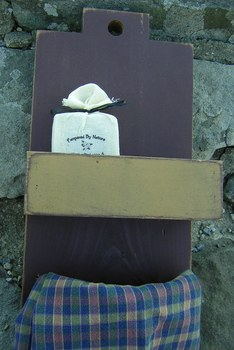 Towel Holder With Soap Box
