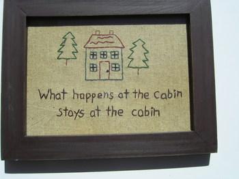Cabin Sampler
